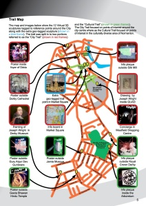 Virtulight trail map